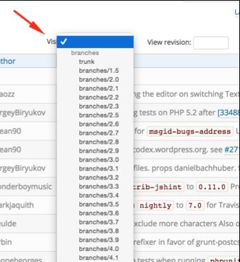 Figure 5: Visit older WordPress revisions